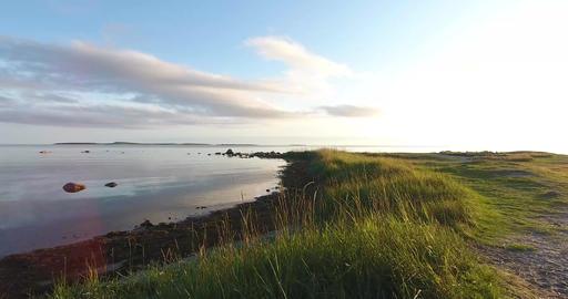 White Sea coast, Solovki Islands Footage
