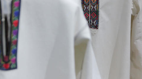 The Embroidery National Shirt GIF