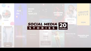 Social Media Stories Premiere Pro Template