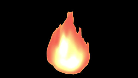 Simple fire Animation