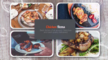 Restaurants Promo Plantilla de After Effects