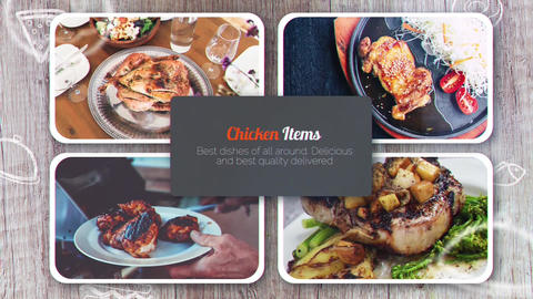 Restaurants Promo After Effects Template