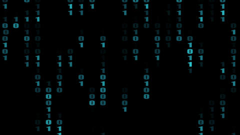 numbers in matrix Stock Video Footage