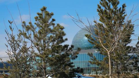 Globe Building of EXPO 2017 GIF