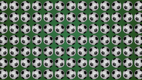 Football ball soccer green background pattern GIF