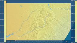 Lesotho - solar radiation, raw data Animation