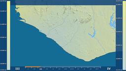 Liberia - solar radiation, raw data Animation