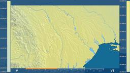 Moldova - solar radiation, raw data Animation