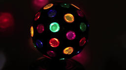 Multicolored ball turning 1 Archivo