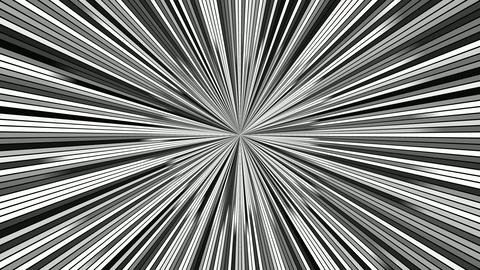 Rotating hypnotic burst stripes - seamless loop motion graphics Animation