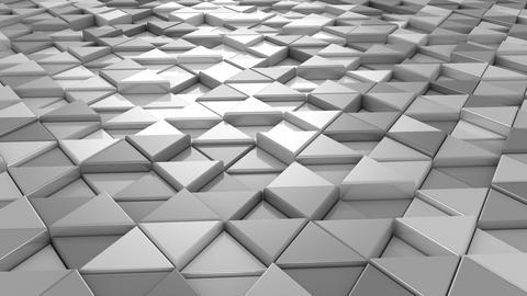 Background of Triangles Animación