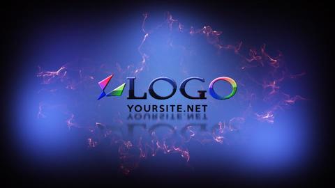 Short Logo Reveal Dark After Effectsテンプレート