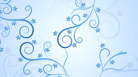 Floral Winter Filigree GIF
