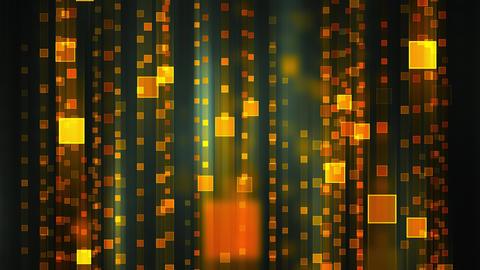 Glowing Data Matrix Animation