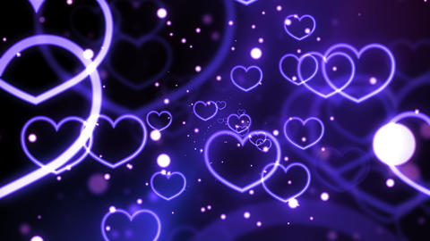 Violet Love Forever Hearts Animation