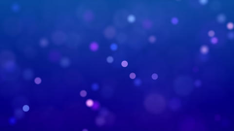 Blue background with small bokeh Animation