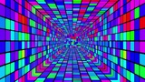 Retro Disco Tunnel 03 Stock Video Footage