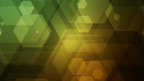 hexagonal overlayer Stock Video Footage
