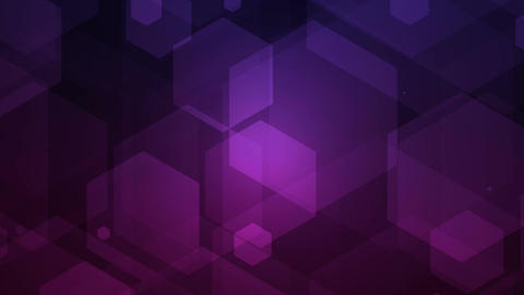 hexagonal lights Stock Video Footage