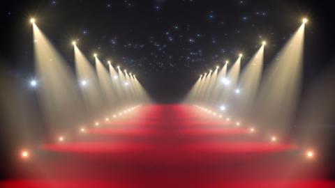 Red carpet loop Stock Video Footage