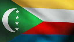 Comoros flag Animation