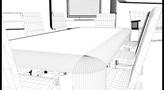 Minimal Design Furniture Set 3D Model