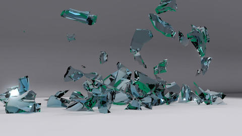 The explosion of the number of 2011, the fragments Animation