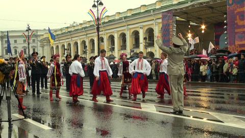 Russian folk dance Stock Video Footage