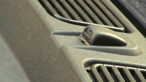 nozzle for car windows Stock Video Footage