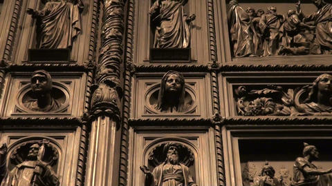 The Door of st. Isaac's cathedral Footage