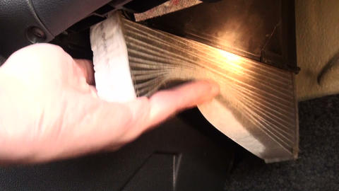 Cabin filter car Footage