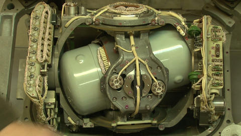 Aviation gyroscope Stock Video Footage