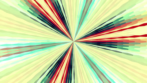 Colorful Rays Moving Abstract Background Animation