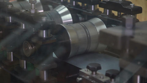 Manufacturing Process of Cold Rolled Steel Footage
