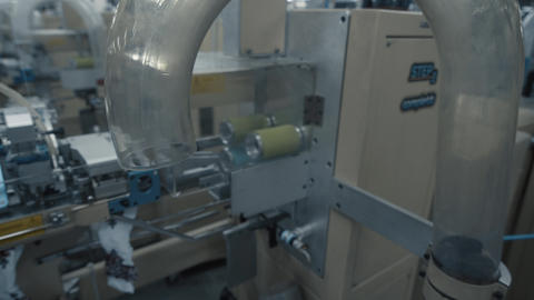 Machine sewing production GIF