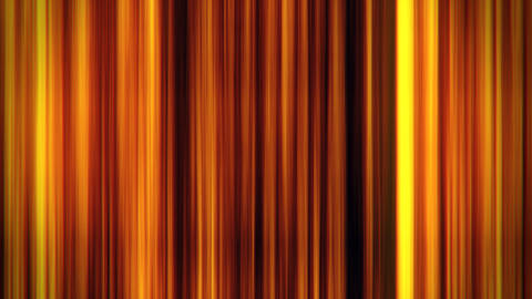 Gold Glowing Vertical Lines Loop Motion Graphic Background Animation