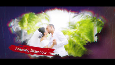 Wedding Watercolor After Effects Template