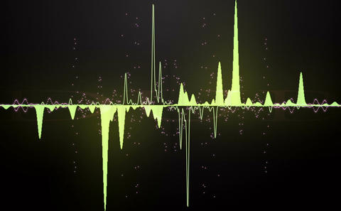 Audio wave Animation