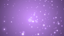 Space Silver Background With Particles stock footage
