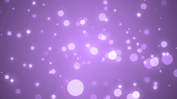 Space pink background with particles Animation