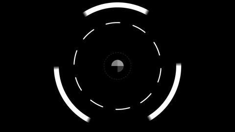 Round Lock on Target HUD Element Live Action