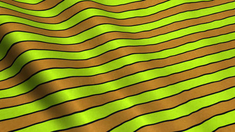 Orange Stripes Fabric Cloth Material Texture Seamless Looped Background Animation