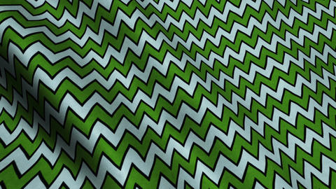Green White Stripes Fabric Cloth Material Texture Seamless Looped Background Animation