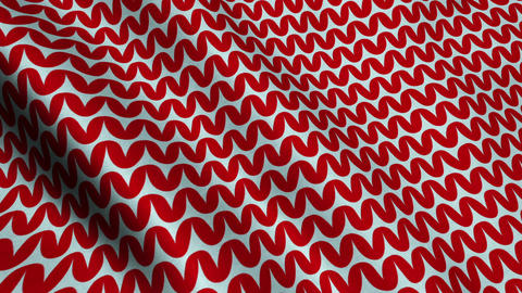Red Wool Fabric Cloth Material Texture Seamless Looped Background Animation