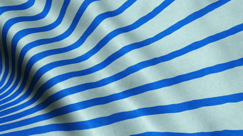 Blue Stripes Fabric Cloth Material Texture Seamless Looped Background Animation