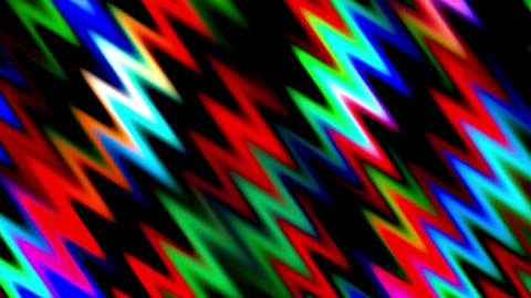Abstract Colored Waves Lines Animation