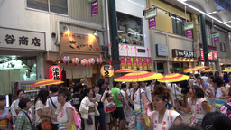 4K Osaka Tenjin Matsuri festival / 大阪天神祭 ライブ動画