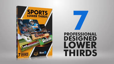 Lower Thirds Sports Pack After Effects Template