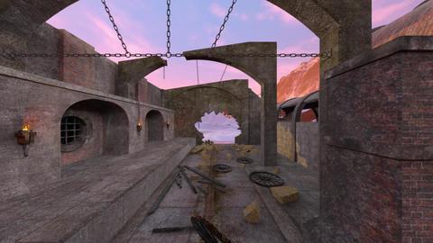 Ruins Animation