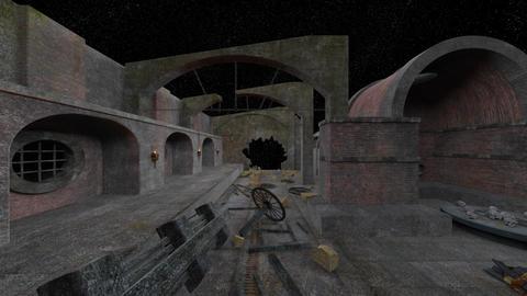 Ruins CG動画素材